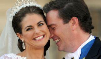Prinzessin Madeleine von Schweden und Chris O'Neill feierten im Juni 2013 Hochzeit. (Foto)