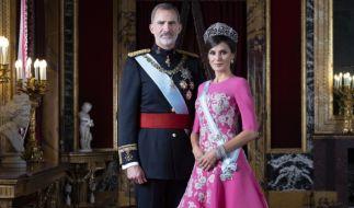 König Felipe VI. von Spanien und Königin Letizia sind seit 2004 verheiratet. (Foto)