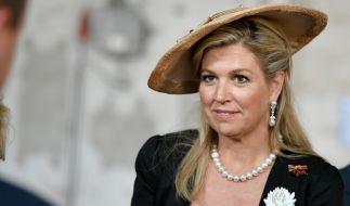 Königin Maxima der Niederlande muss für ihr modisches Auftreten Kritik einstecken. (Foto)