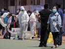 China meldet Dutzende neue Corona-Fälle in Peking. (Foto)
