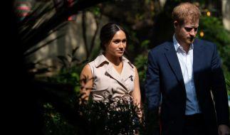 Prinz Harry und Meghan Markle leben derzeit in Los Angeles. (Foto)
