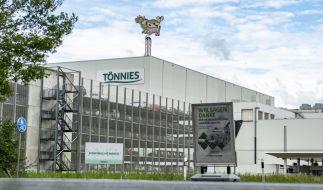 Coronavirus-Ausbruch in Tönnies-Fleischfabrik Rheda-Wiedenbrück in NRW. (Foto)