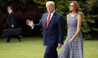 Eine neue Biografie packt intime Details aus dem Liebesleben von Melania und Donald Trump aus. (Foto)