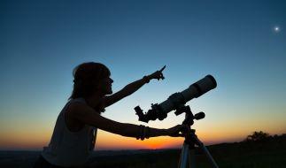 Am 19.06.2020 bedeckt der Mond die Venus. (Foto)