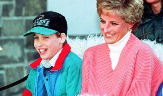 Prinz William mit seiner Mutter Lady Diana im Jahr 1994. (Foto)