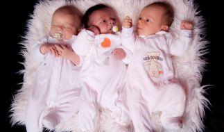 In Mexiko sind drei Babys mit dem Coronavirus auf die Welt gekommen. Die Drillinge hatten sich vermutlich bereits vor ihrer bei ihrer Mutter angesteckt. (Foto)