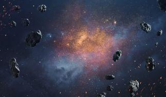 In dieser Wochen schrammen mehrere Asteroiden sehr nah an der Erde vorbei. (Foto)
