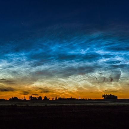 Beeindruckendes Himmelsschauspiel! DIESES Licht erhellt die Nacht (Foto)