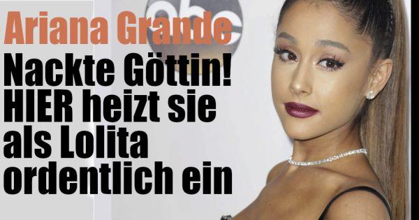 Nackt ariana gründe Ariana Grande