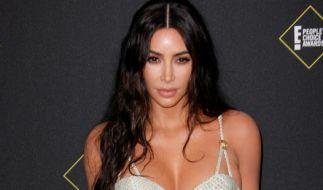 Kim Kardashian wirbt für Nude-Underware-Kollektion. (Foto)