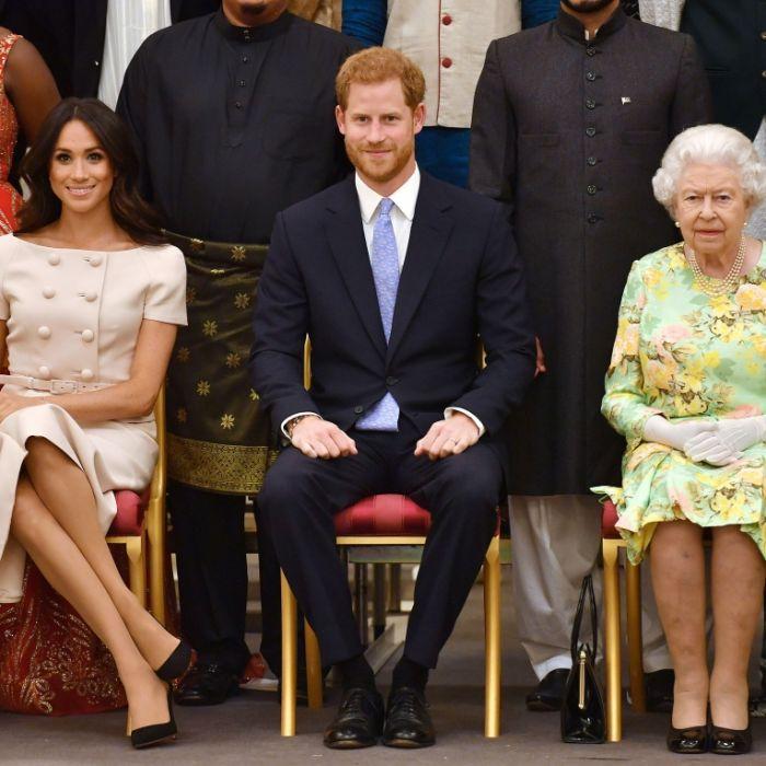 Die Queen eine Rassistin? Prinz Harry durfte Meghan nur heiraten, weil... (Foto)