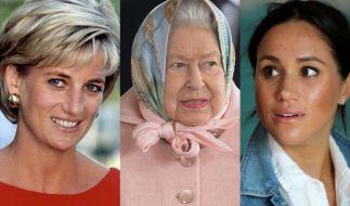 Die Royals-News drehten sich diese Woche um Prinzessin Diana, Queen Elizabeth II. und Meghan Markle. (Foto)