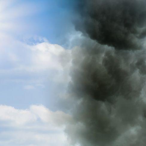 Achtung, Unwetter! HIER drohen Dauerregen, Gewitter und Sturmböen (Foto)