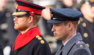 Die Stimmung zwischen Prinz Harry und Prinz William war schon mal besser. (Foto)