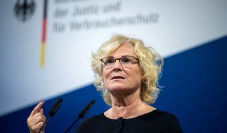 Bundesjustizministerin Christine Lambrecht (SPD) hat konkrete Pläne zur Verschärfung des Strafrechts bei Kindesmissbrauch und sogenannter Kinderpornografie vorgelegt. (Foto)
