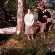 Keine Krone, kein Abendkleid, keine Brillanten: Queen Elizabeth II. lässt in ihren Sommerferien in den schottischen Highlands mit Prinz Philip die Seele baumeln.