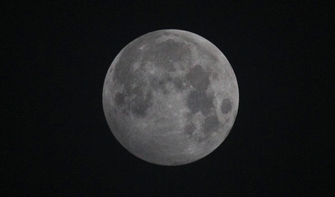 Halbschatten-Mondfinsternis am 05.07.2020