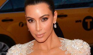 Kim Kardashian verzückt ihre Fans im Netz. (Foto)