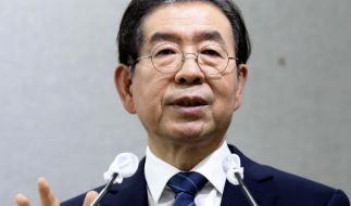 Der Bürgermeister der südkoreanischen Hauptstadt Seoul, Park Won Soon, ist tot aufgefunden worden. (Foto)