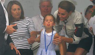 Kate Middleton hat mit ihrer Tochter Prinzessin Charlotte alle Hände voll zu tun. (Foto)