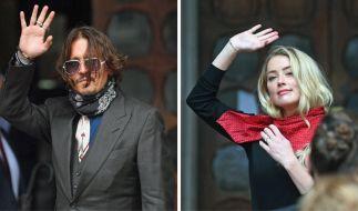 In einem Gerichtsprozess werden aktuell bizarre Details aus der Ehe von Johnny Depp und Amber Heard öffentlich. (Foto)