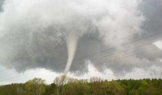 2015 fegte ein Tornado über Mecklenburg-Vorpommern. (Foto)