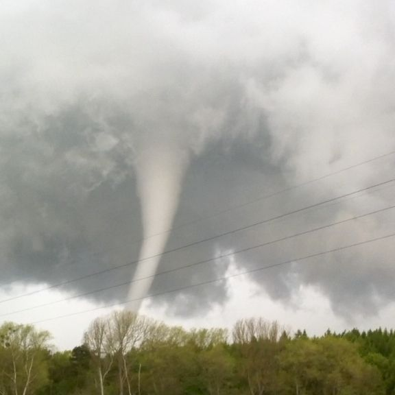 Tornado-Alarm! Ex-Tropensturm rast auf Deutschland zu (Foto)