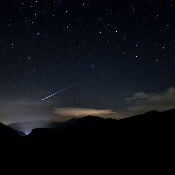 Astro-Spektakel! Sternschnuppen-Regen erleuchtet den Nachthimmel (Foto)