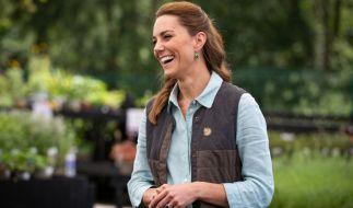 Wie anstrengend ihre Kinder sein können, enthüllte Herzogin Kate Middleton in den Royal-News. (Foto)