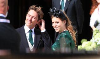 Prinzessin Beatrice hat ihren Verlobten Eodardo Mapelli Mozzi in einer heimlichen Zeremonie auf Schloss Windsor geheiratet. (Foto)