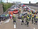 Todes-Crash auf A31 bei Leer, Ostfriesland