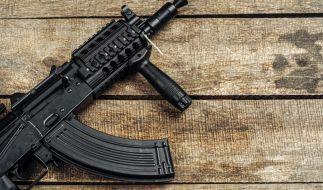 In der Ukraine hatte ein Schwerbewaffneter mindestens 10 Menschen als Geiseln genommen. (Foto)