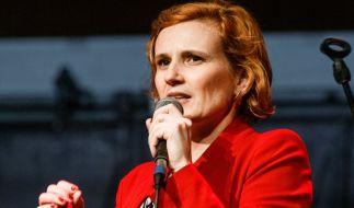 Linken-Chefin Katja Kipping fordert die Vier-Tage-Woche für Arbeitnehmer. (Foto)