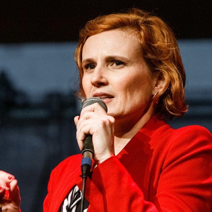 Linken-Chefin fordert Vier-Tage-Woche und Twitter explodiert (Foto)