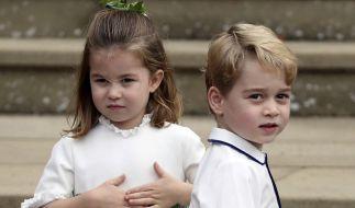 Prinz George, hier mit seiner zwei Jahre jüngeren Schwester Prinzessin Charlotte, wird am 22. Juli 2020 sieben Jahre jung. (Foto)