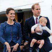 Kleiner Prinz auf großer Reise: Mit nur zehn Monaten durfte der kleine Prinz George seine Mama Kate Middleton und seinen Papa Prinz William nach Australien begleiten.