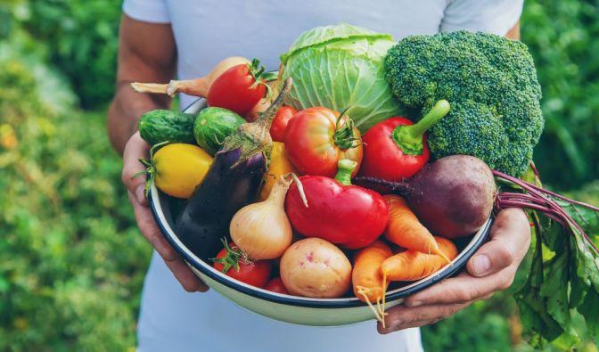 Kidneybohnen, Kartoffeln, Auberginen