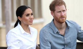 Ärger im Paradies? Laut Royal-News stehen Prinz Harry und Meghan Markle kurz vor einer Scheidung. (Foto)