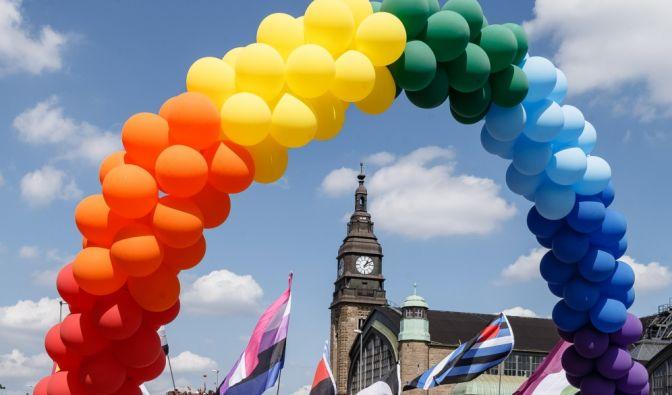 Hamburg Pride Demo am 01.08.2020
