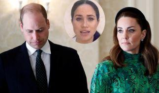Wegen Meghan Markle haben sich Prinz William und Kate Middleton erst einmal eine Auszeit genommen. (Foto)