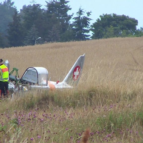Bäckerei-Boss (57) tot nach Kleinflugzeug-Absturz - Pilot wollte umdrehen (Foto)