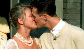 Michael Schumacher und Corinna Betsch sind seit dem 1. August 1995 verheiratet. (Foto)
