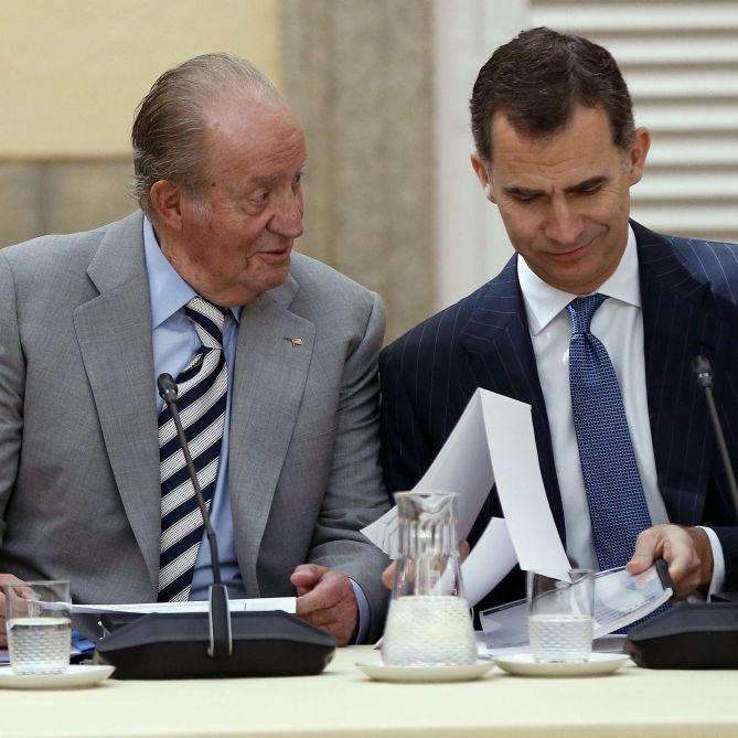 Felipe jagt Royal-Papa vom Hof! Wo ist der Monarch untergetaucht? (Foto)