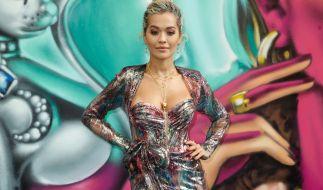 Sängerin Rita Ora ist immer für eine freizügige Überraschung gut. (Foto)