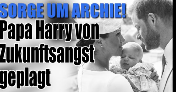Meghan Markle + Prinz Harry: Große Sorge um Archie! DAS bereitet Papa Harry schlaflose Nächte