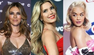 Von Liz Hurley bis Rita Ora: Die Promis zogen in dieser Woche in Sachen sexy Bikini-Posen alle Register. (Foto)