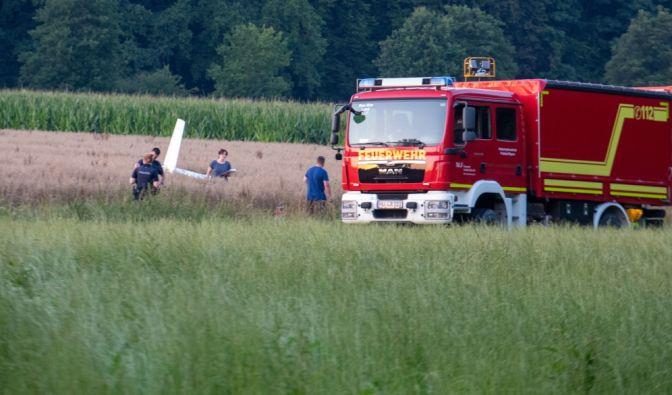 Flugzeugunglück bei Emershofen-Weißenhorn