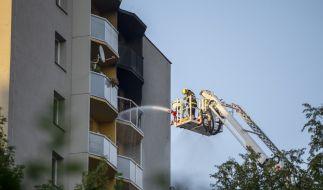 Im tschechischen Bohumin sind bei einem Hochhausbrand mindestens elf Menschen ums Leben gekommen. (Foto)