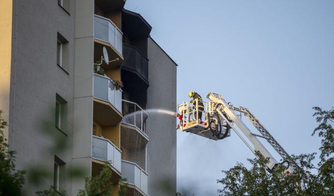 Flammen-Hölle in Tschechien