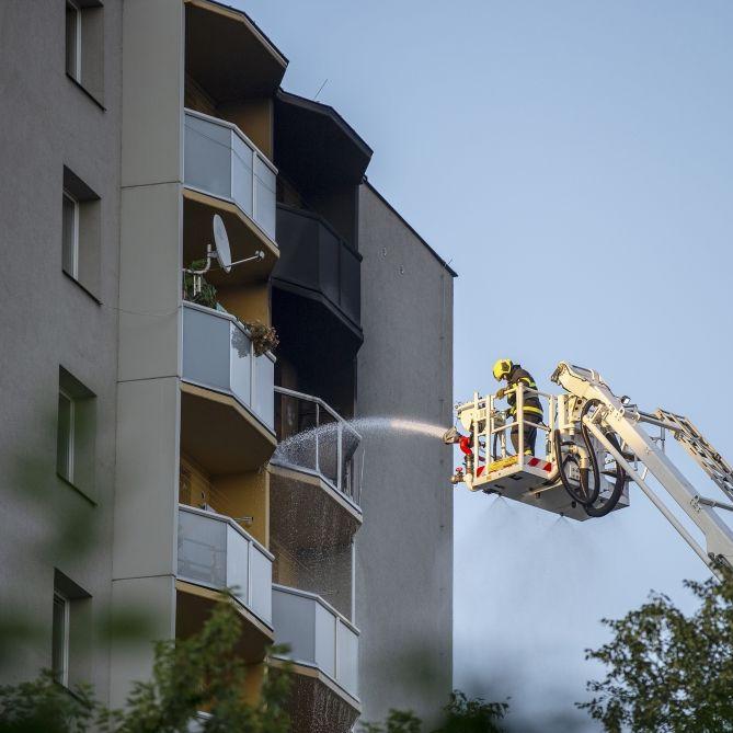 Elf Tote nach Feuer-Inferno in Hochhaus - Kinder auch Opfer (Foto)